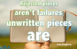 rejected pieces aren't failures_blog
