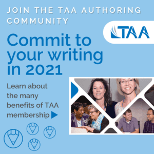 Join the TAA Authoring Community