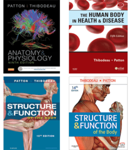 K.Patton, Anatomy & Physiology book covers