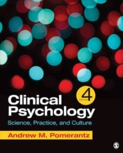 Clinical Psychology: Science, Practice and Culture