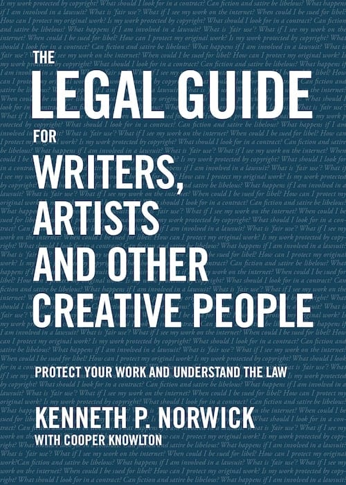 The Legal Guide for Writers Artists and Other Creative People
