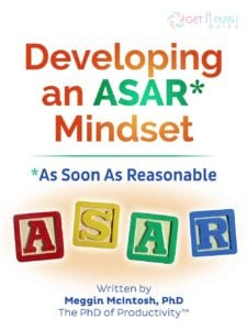 Developing an ASAR Mindset