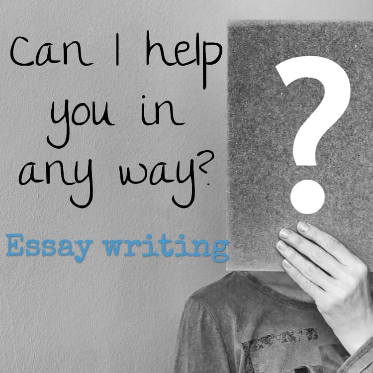 Can I help you in any way? Essay writing