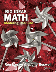 Big Ideas Math: Modeling Real Life Elementary Series, 1st ed.