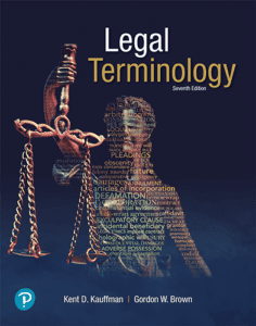 Legal Terminology, 7th ed.