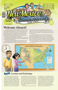 New Mexico Studies Weekly - Our State, 1st ed.