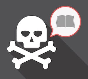 Pirated textbooks