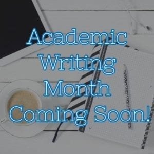 AcWriMo is coming soon