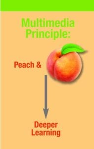 Multimedia Principles - Peach diagram