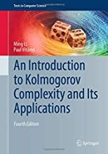 An Introduction to Kolmogorov Complexity and Its Applications, 4e