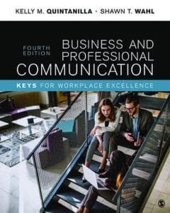 Business and Professional Communication: KEYS for Workplace Excellence, 4th ed.