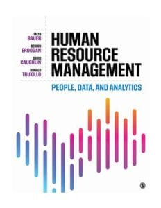 Human Resource Management: People, Data, and Analytics, 1st ed.