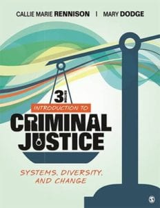 Introduction to Criminal Justice: Systems, Diversity, and Change, 3rd ed.
