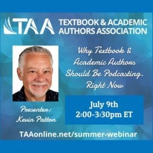Why Textbook & Academic Authors Should Be Podcasting. Right Now