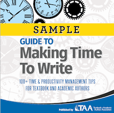 Guide to Making Time to Write Sample Cover