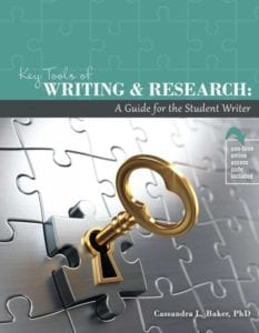 Key Tools of Writing and Research
