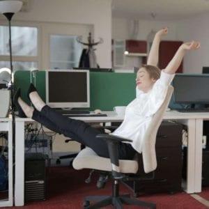 stretch and take a break