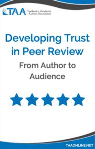 Trust in Peer Review eBook cover